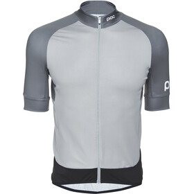 POC Essential Road Trikot Herren francium multi grey